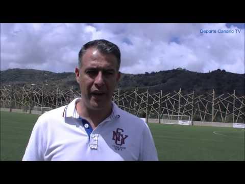 Comentario post partido de Israel Quintana entrenador de la UD Villa Santa Brígida 27 9 2015