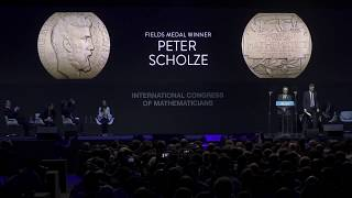 Fields Medal to Peter Scholze