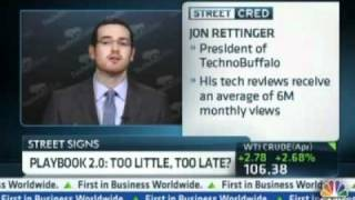 Jon on CNBC Talking about RIM - Can They Be Saved?