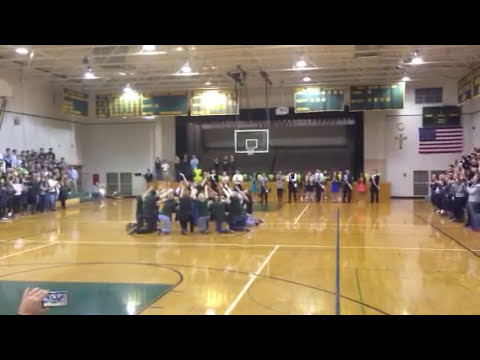 SMCC surprise teacher flash mob