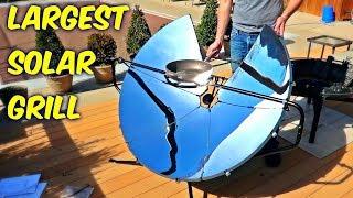 Testing Solar Grill