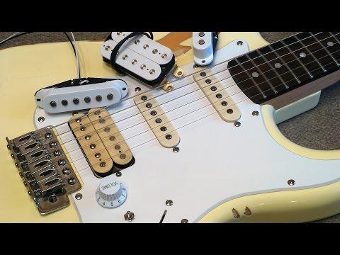 Качественные звукосниматели на бюджетной гитаре