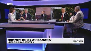 Sommet du G7 au Canada : une réunion à 6 contre 1