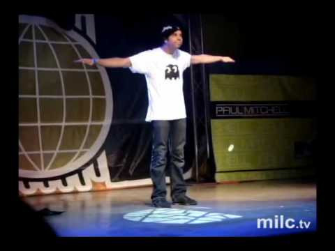 Robert Muraine | Mr Fantastic @ World Of Dance 2010 Dallas Texas Video
