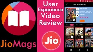 Jio App Review - JioMags App in MyJio App Store | Online Magazines Reliance Jio 4G