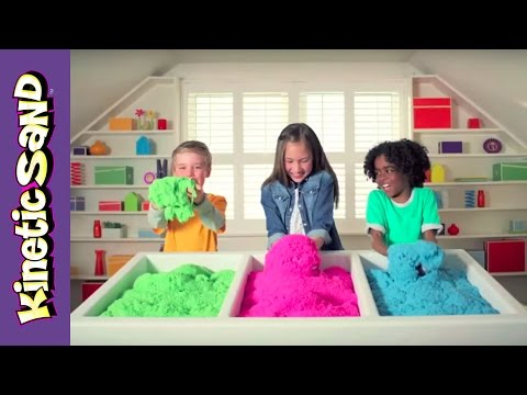 What is Kinetic Sand™ Like?