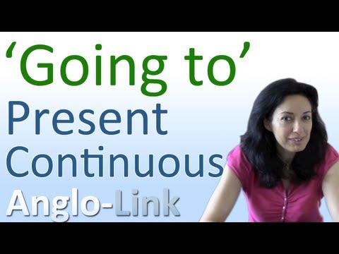 'Going to' Future vs Present Continuous - Learn English Tenses (Lesson 7)