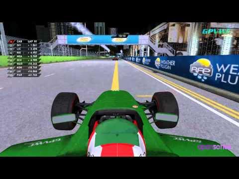 GPVWC 2015 - Downforce Radio Open Series R13 - Singapore GP