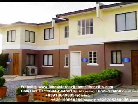 Alice Townhouse in Lancaster Estates, Cavite City, Philippines