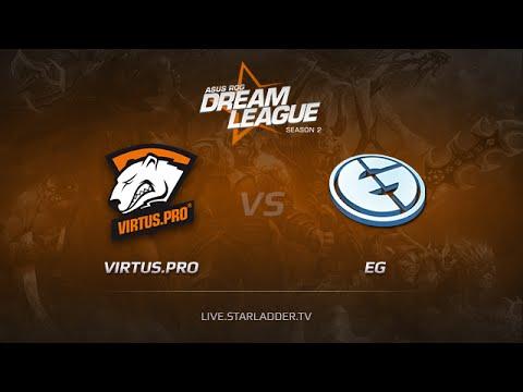 Virtus Pro vs EG Game 1, Dreamleague S2 Playoffs