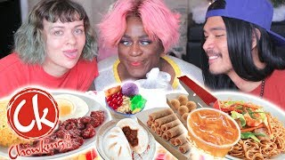 Non-Filipinos Try Chowking For The First Time