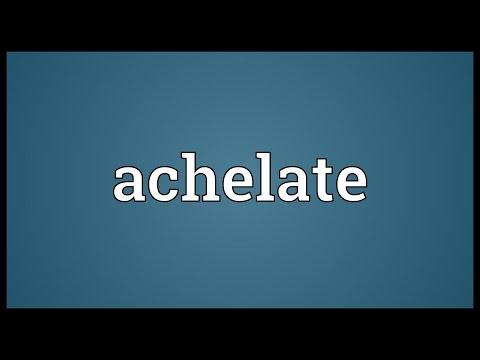 Header of achelate