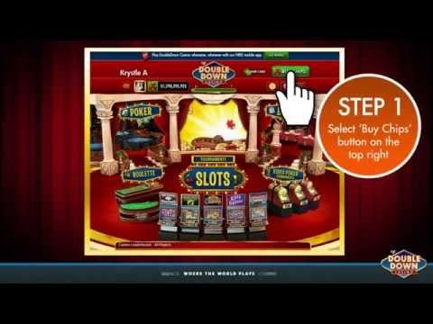 Redeeming a DoubleDown Casino Promo Code on a Desktop Computer