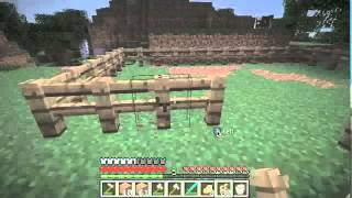 Minecraft: How to make a Fence and Fence gate