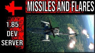 War Thunder Dev Server - Update 1.85 - Helicopter Air to Air Missiles and Flares