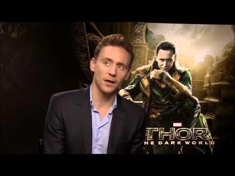 THOR: THE DARK WORLD - Loki (Tom Hiddleston) Interview - Official [HD]