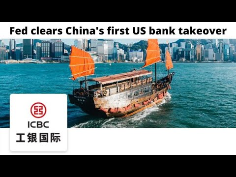 Fed Clears China's First US Bank Takeover