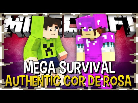 AUTHENTIC DESFILANDO NA PASSARELA - MEGA SURVIVAL #23