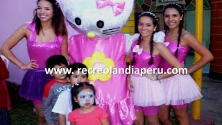 Show infantl de Hello Kitty con Recreolandia