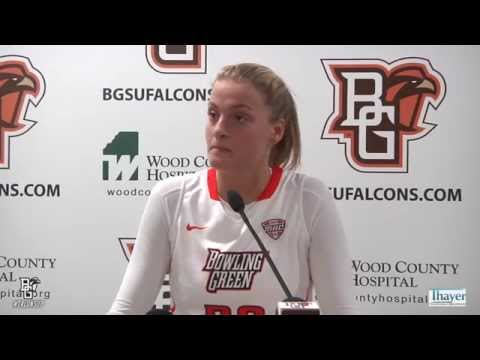 Miriam Justinger Post Game Interview (11-13-15)