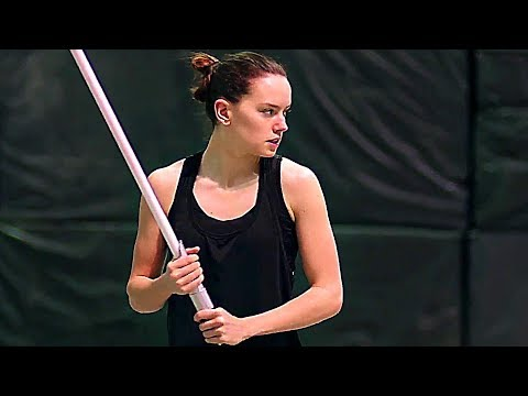 STAR WARS 8 : L'entraînement badass de Rey ! (Making Of, 2017) streaming vf
