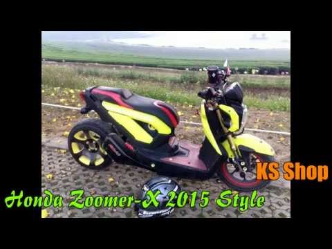 Honda Zoomer X New 2015 Modify Cambodia Kalip9 Khmer Ks video