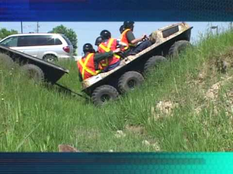 Argo ATV Amphibious Vehicle Compared To Four Wheeler And HUV