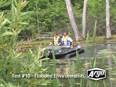 Argo ATV Amphibious Vehicle Compared To Four Wheeler And HUV