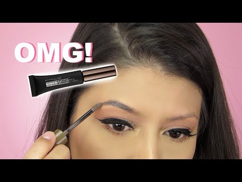OMG!!! New Maybelline Tattoo Studio Brow Gel   Review