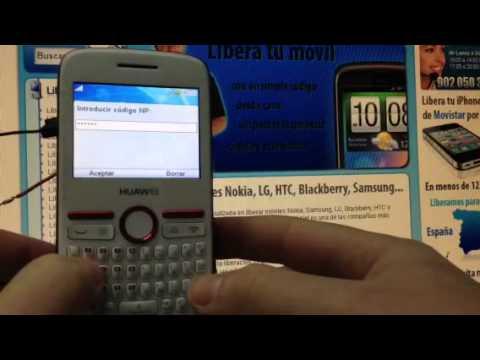 Liberar Huawei G6608 vía imei de Vodafone. Movistar. Yoigo y Orange