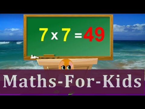 Tutorial  Sing Along 7 Times Table  Children Songs With Lyrics