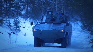BAE Systems - AMV 35 8X8 Combat Reconnaissance Vehicle Ready & Available [1080p]