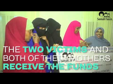 How Somali Faces raised funds for the two rape victims in Somalia thumbnail
