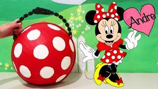LOL Big Surprise de Minnie Mouse | Muñecas y juguetes con Andre para niñas y niños