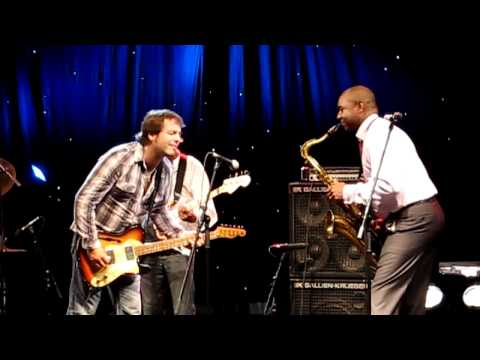 Todd Sharpville and Branford Marsalis at Funchal Jazz Festival 2011