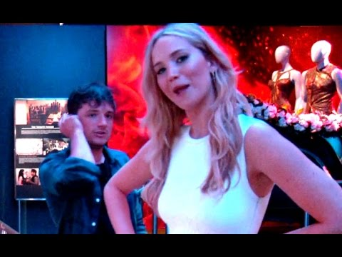 Hunger Games Exhibition - Jennifer Lawrence & Josh Hutcherson Exploration (2015) HD