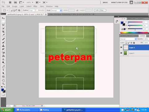 Cara Membuat Gameplan Photo Background PES 2013 by Asun11
