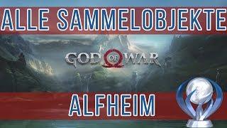 God of War Alfheim Alle Sammelobjekte - Raben - Nornentruhen - Artefakte Fundorte