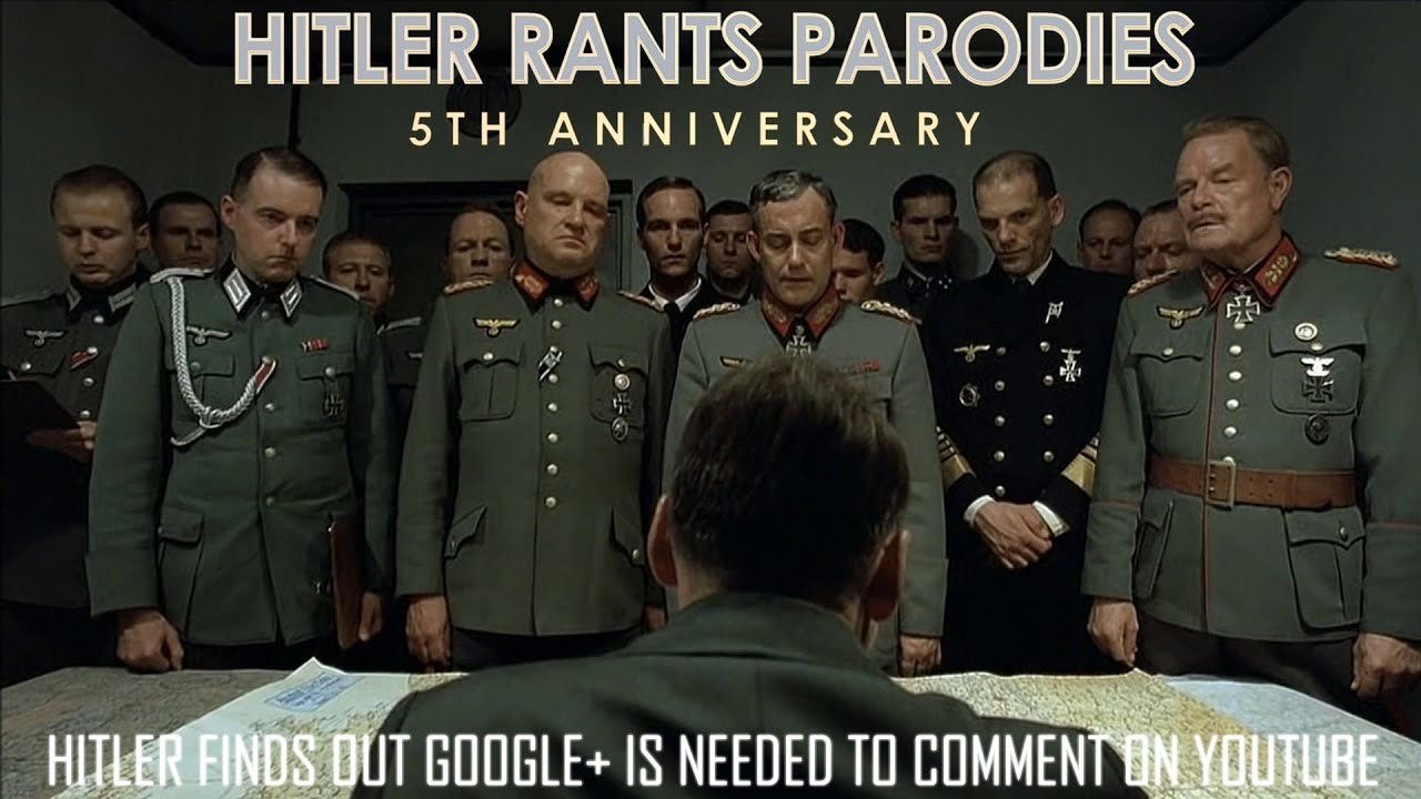 Hitler finds out Google+ is needed to comment on YouTube