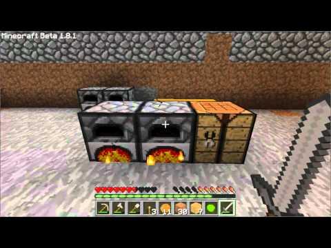 Индустриальный minecraft сервер. Игровое видео