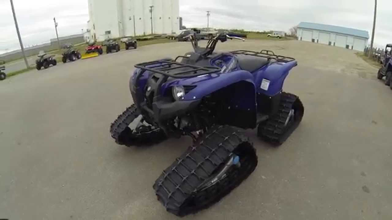 2014 yamaha grizzly 700 eps with camoplast tatou 4 s for Yamaha grizzly 700 for sale