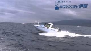 ヤマハボ-トSRXで松前小島へ挑戦