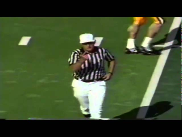 Oregon RB Sean Burwell 16 yard run vs. New Mexico St. 10-05-91