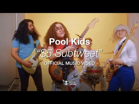 Pool Kids - $5 Subtweet [OFFICIAL MUSIC VIDEO]