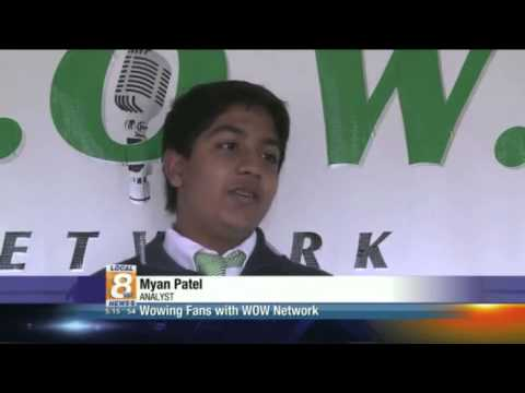 Webb School of Knoxville's W.O.W. Network on WVLT Channel 8 News - 02/27/2014