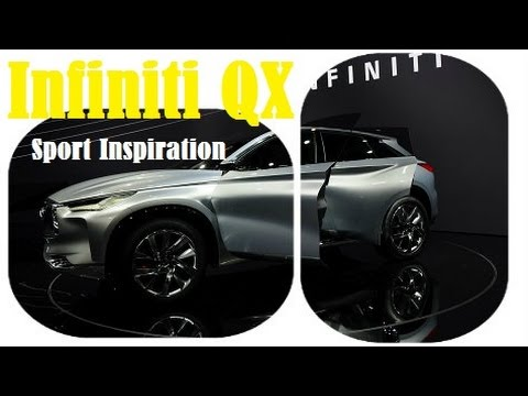 Infiniti QX Sport Inspiration, live photos at the 2016 Beijing Auto Show
