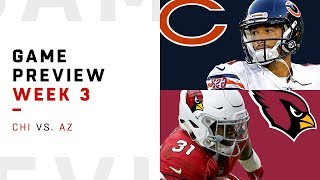 Chicago Bears vs. Arizona Cardinals | Week 3 Game Preview | NFL Film Review