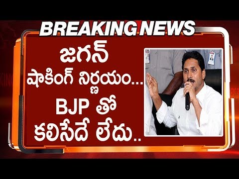 YS Jagan Mohan Reddy Shocking Decision On Alliance With BJP | AP Politics
