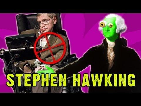Zombie George Washington: Hunting Stephen Hawking