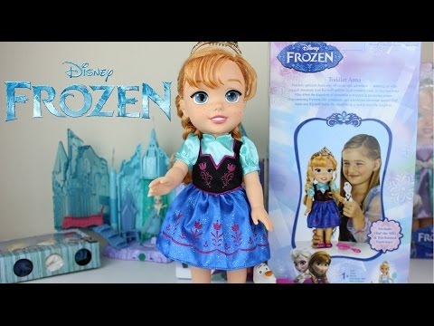 Juguetes Frozen|Una Aventura Congelada Muñeca Anna|Mundo de Juguetes